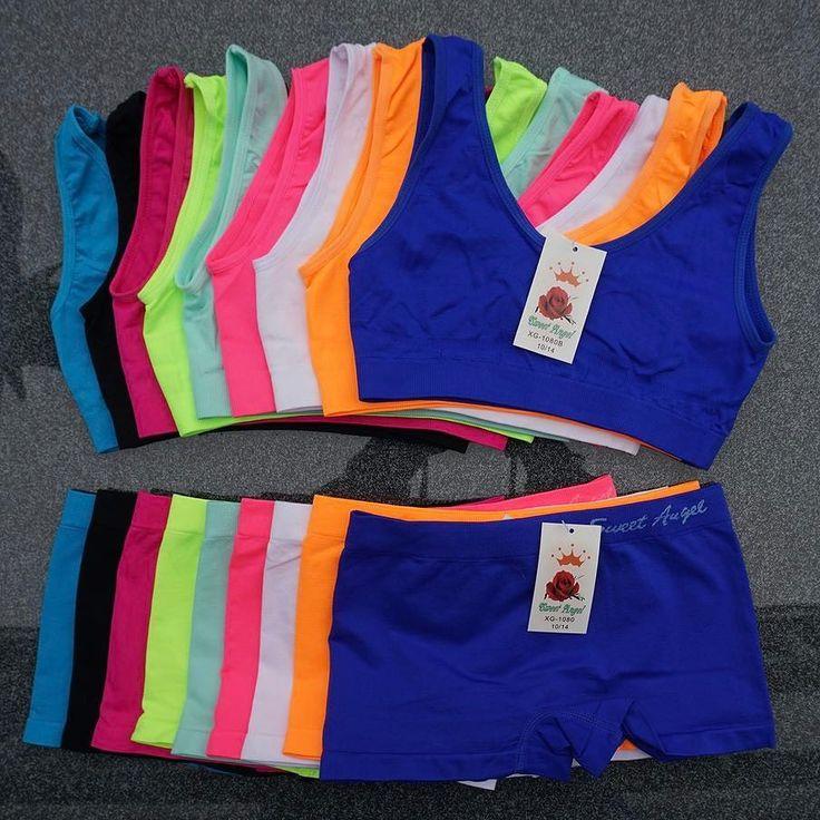 De leuke microfiber setjes voor meisjes zijn deze zomer weer een hit  De broekjes en topjes kan je los of als setje kopen en door de 11 verschillende kleuren heeft je meisje bij iedere outfit matchend ondergoed.   #pepaondermode #meisjes #ondergoed #topje #boxershort #ondergoedset #setje #kleuren #neon #pastel #naturel #donker #girl #girls #underwear #underwearset #colours #dark #haagsemarkt #denhaag #markt #delft #webshop