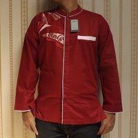 Baju Koko Abbasy Eklusif, Kalista Merah Marun - Le