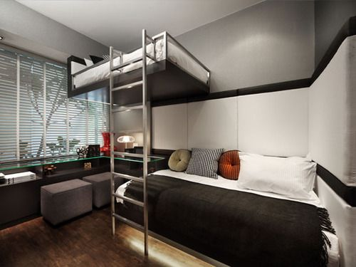 What can be better than a bed with a ladder?