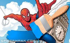 Coloring Ultimate Spiderman Spiderman Spider Man 2