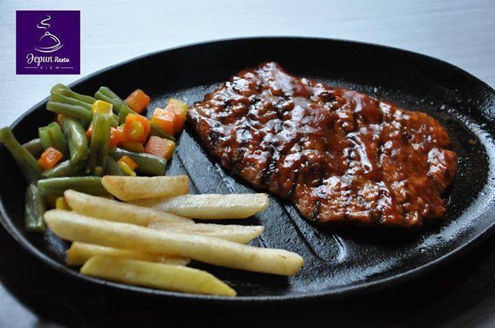 Steak from Jepun View Resto Tulungagung