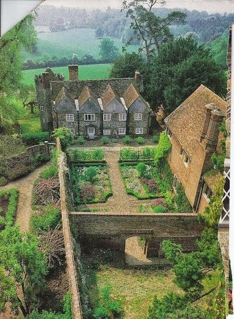 Walled English country kitchen garden | Outdoor Areas