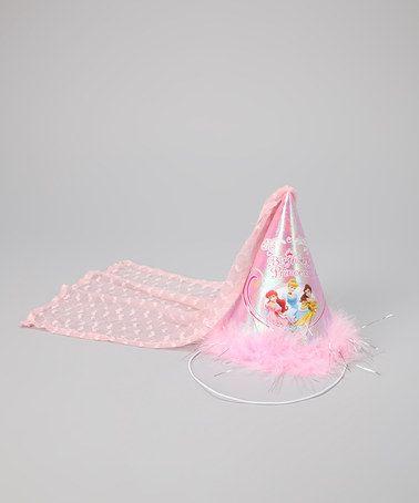 princess cone hat template - pink 39 birthday princess 39 cone hat disney birthdays and pink