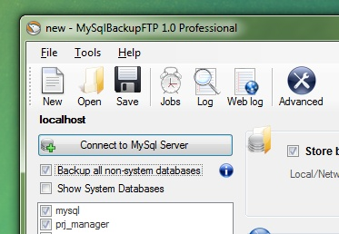 This is a great free tool to automate local and remote MySQL backups! If you use MS SQL Express, check out their other version!