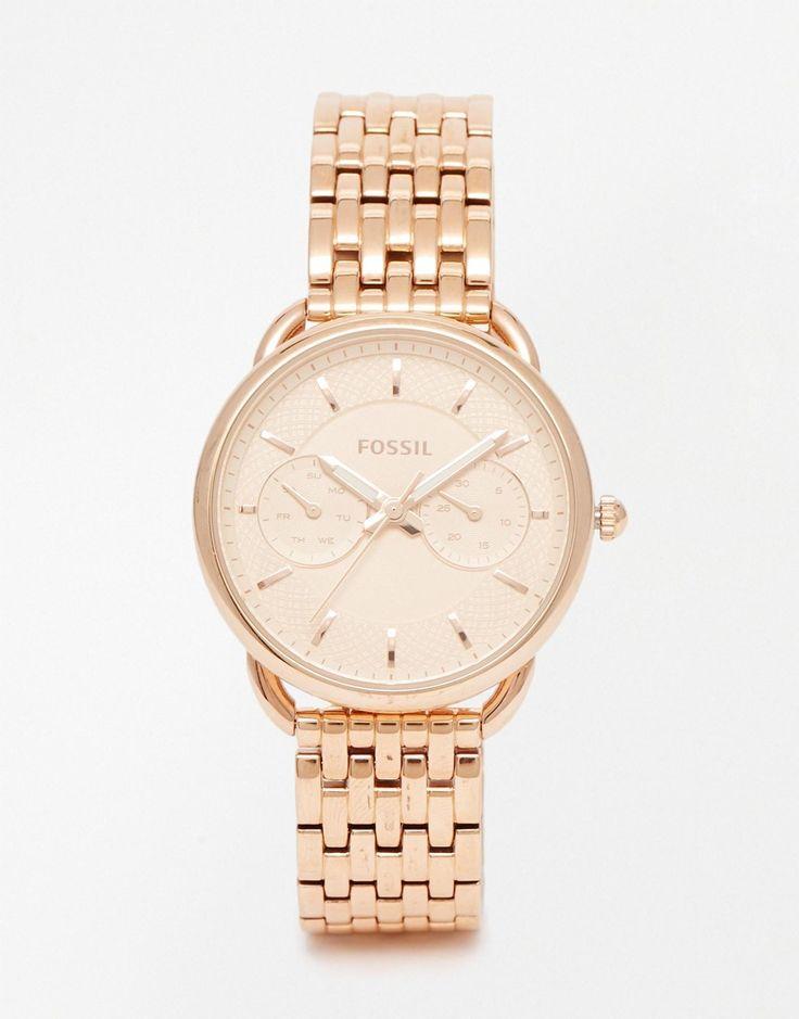 Fossil+Rose+Gold+Jacqueline+Bracelet+Watch