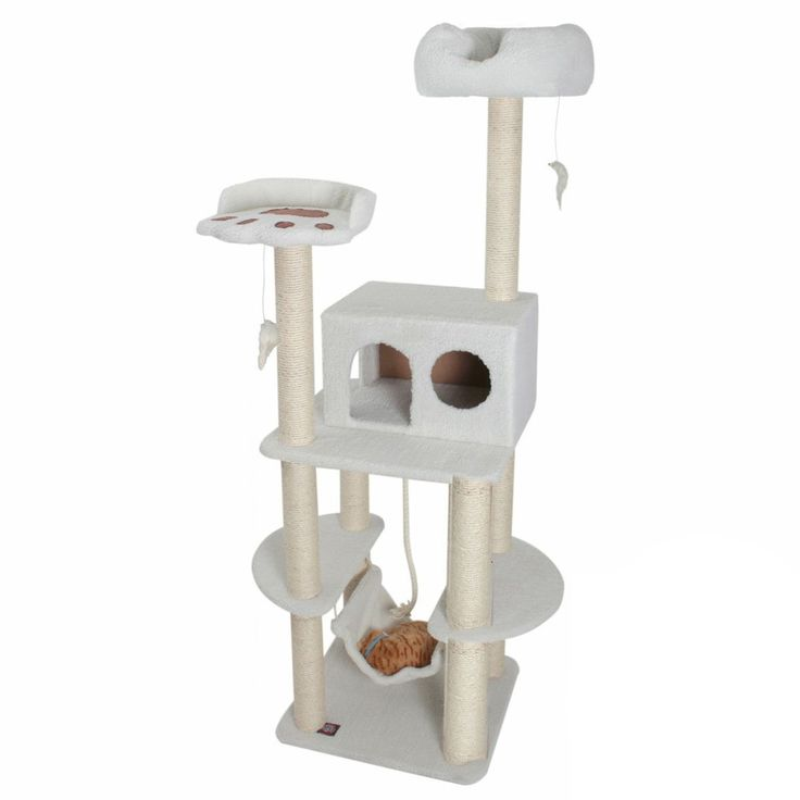 76-inch Bungalow Cat Furniture Tree Condo   Overstock.com Shopping - The Best Deals on Cat Furniture