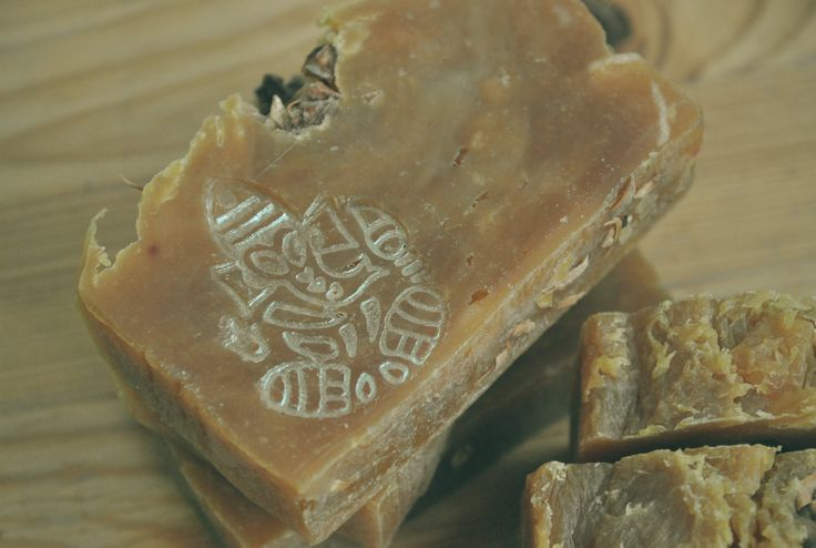 Soap olive and coconut oil Ganesha Kalamkari