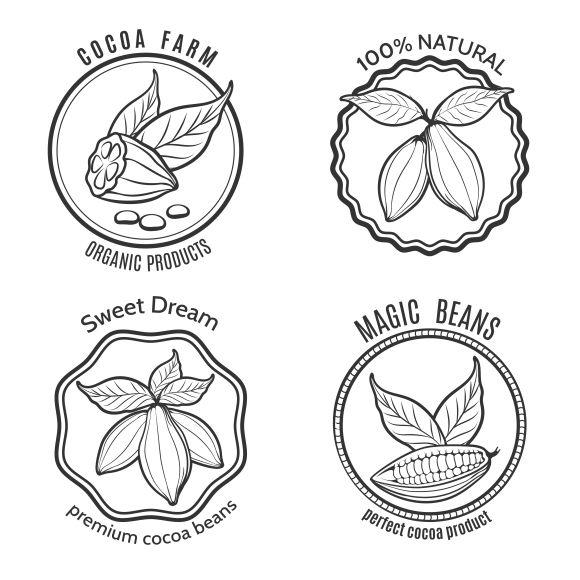 Cacao logo set - Graphics - 1