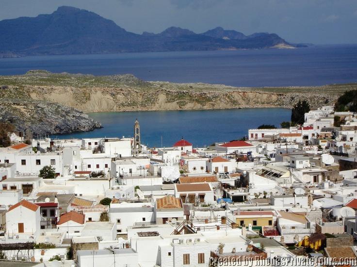 Lindos Village - The East Coast Rhodes Island Greece