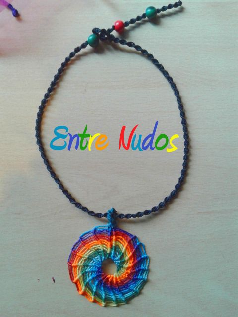 Colgante espiral ARCO IRIS