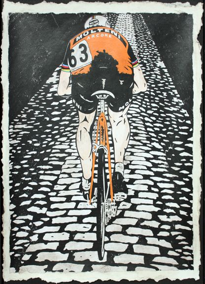 Eddy Merckx Paris-Roubaix Limited Edition 100 pieces signed/numbered