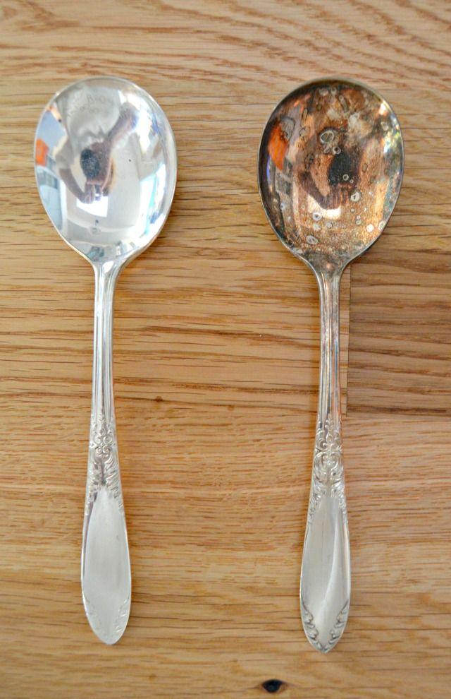 Cómo limpiar y quitar el deslustre de plata