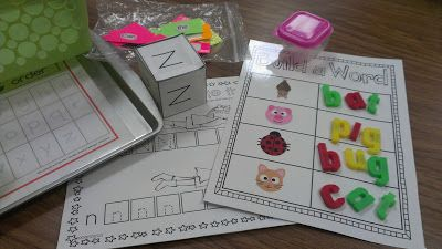 Kindergarten Word Work Ideas...great for Daily 5!