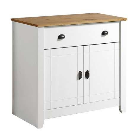 Ludlow White Sideboard | Dunelm