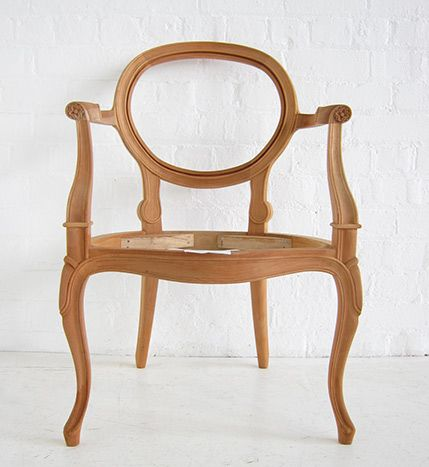 French Oval Armchair Oval Carver Dutch Connection