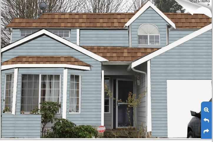 Best Lt Brown Roof With Oxford Blue Paint Home Dreams 640 x 480