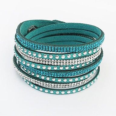 Beauty Box from Lightinthebox - @LightInTheBox  - European Style Fashion Wild Long Leather Bracelet - USD $ 3.99