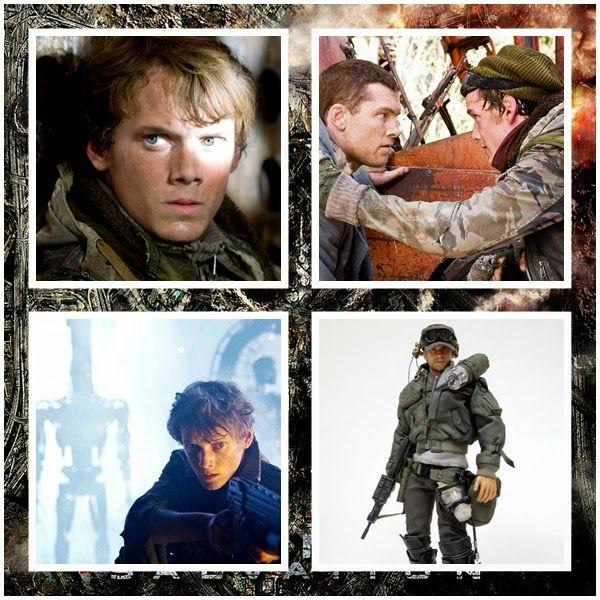 Anton Yelchin as Kyle Reese: Terminator Salvation Movie Figure