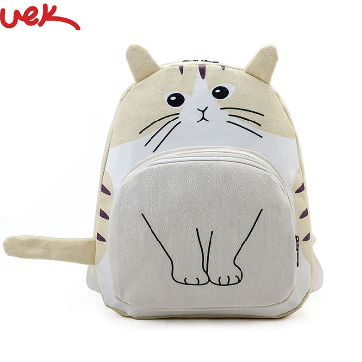 3D Cat Printing Backpack | Price: $10.45 | #babies #pregnancy #kids #mommy #child #love #momlife #babygirl #babyboy #babycute #pregnant #motherhood #photography #photoshoot