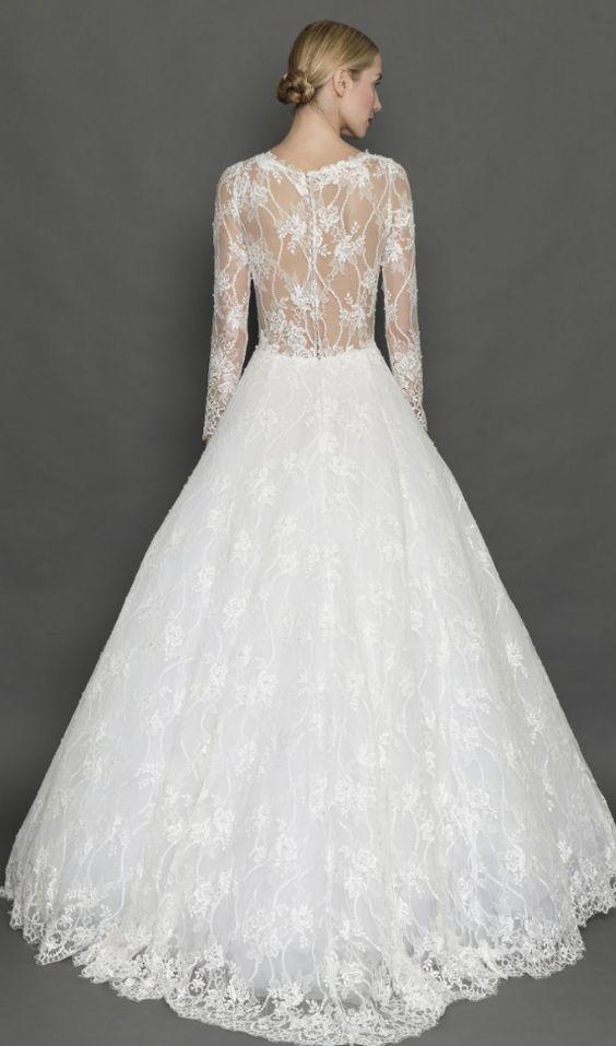 Featured Dress: Francesca Miranda; Wedding dress idea.