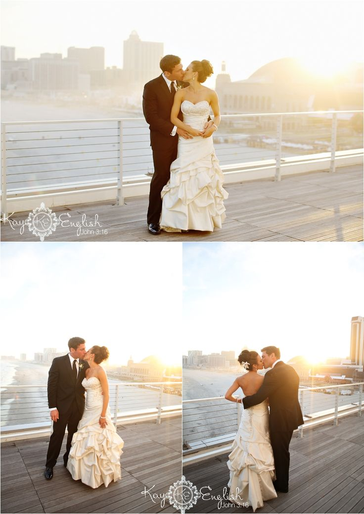 beach wedding in new jersey%0A One Atlantic Wedding  Atlantic City  NJ   u     Maria and John    New Jersey