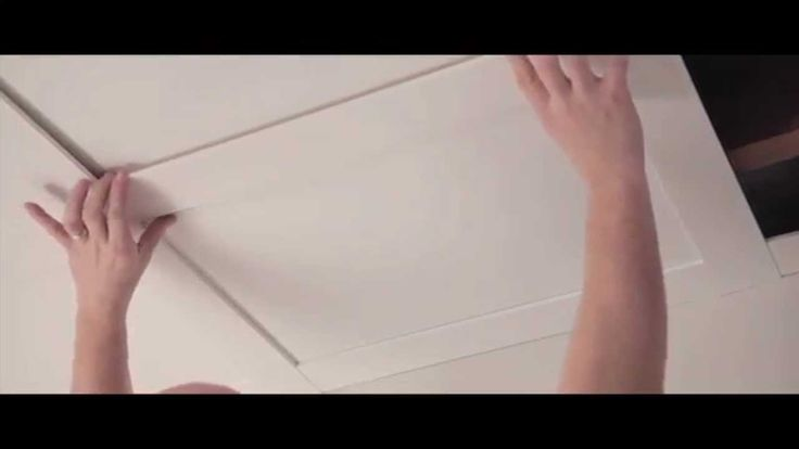Installation video - How to install an Embassy suspended ceiling.