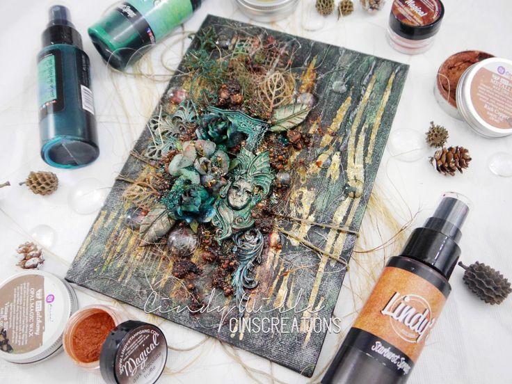 'Forest Magic' Mixed Media Canvas - CinsCreations
