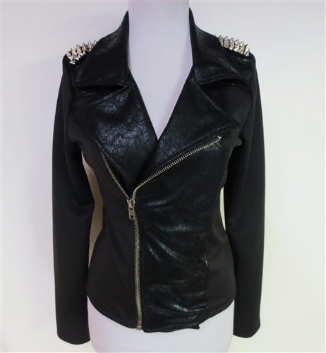 Just Spike It Moto Style Jacket-NEW! $69.99 in small; medium or large