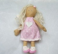 Angel - sewing doll