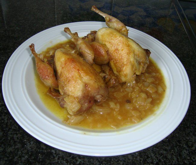 Recept voor Kwartels. Meer originele recepten en bereidingswijze voor…