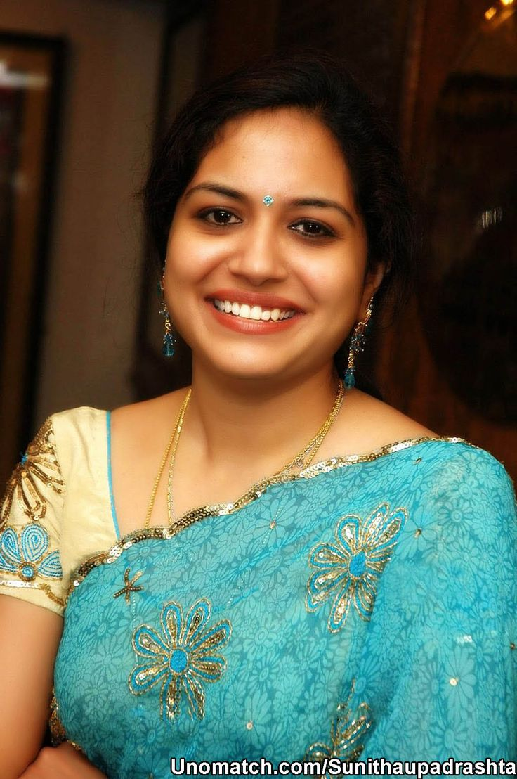 Sunitha Upadrashta is a playback singer, anchor and dubbing artist in the Telugu Film industry, also known as Tollywood. Sunitha's career began in the year 1995 with the movie Gulabi. like : http://www.Unomatch.com/Sunithaupadrashta/