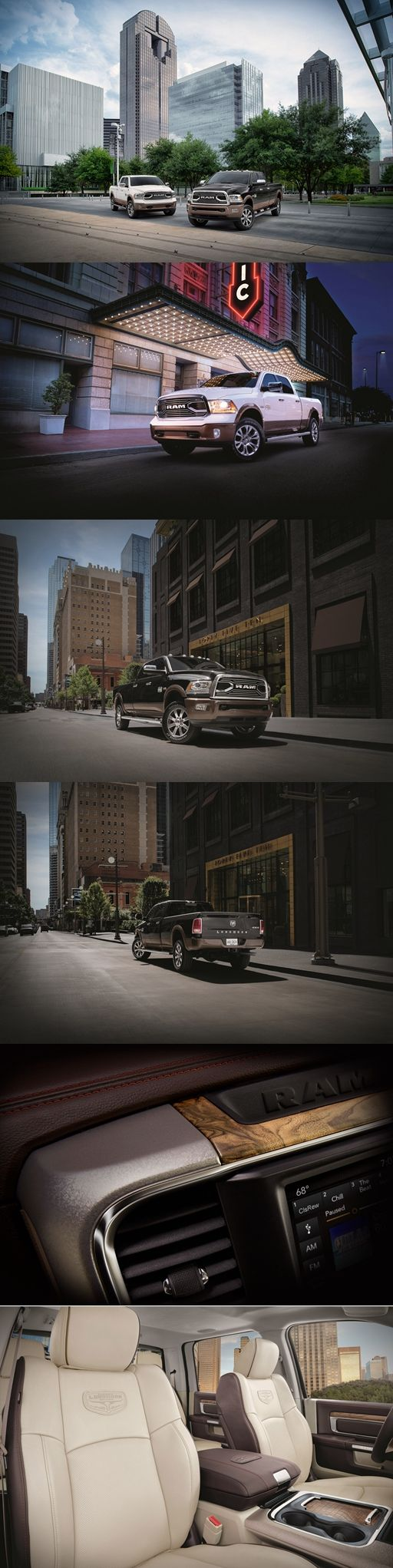 2018 #Dodge #Ram Laramie Longhorn Southfork Edition Is For #Texans Only. This special truck is jam-packed with luxury and #technology to make traversing the long hauls of Texas' highways more bearable, but for #Texas only.