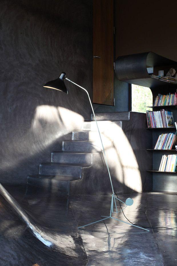 MANTIS line - BS 1 by Bernard Schottlander Floor lamp
