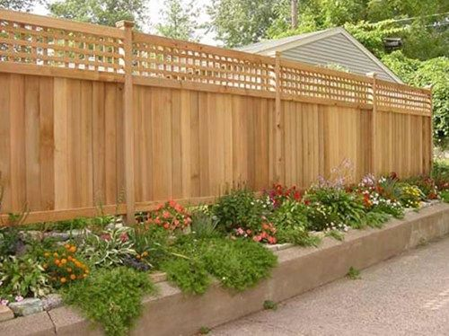 Landscaping Around A Privacy Fence | wood-fence-privacy-fence-the-fence-deck-patio-company_4954.jpg