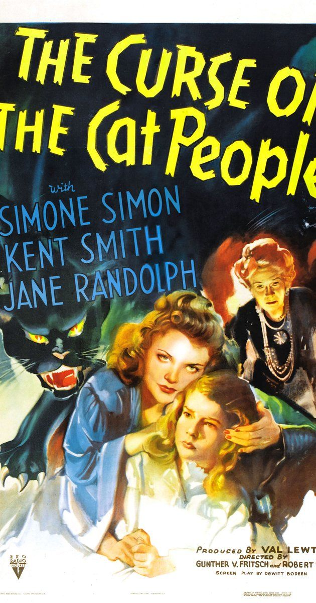 Directed by Gunther von Fritsch, Robert Wise.  With Simone Simon, Kent Smith, Jane Randolph, Ann Carter. The young, friendless daughter of Oliver and Alice Reed befriends her father's dead first wife and an aging, reclusive actress.