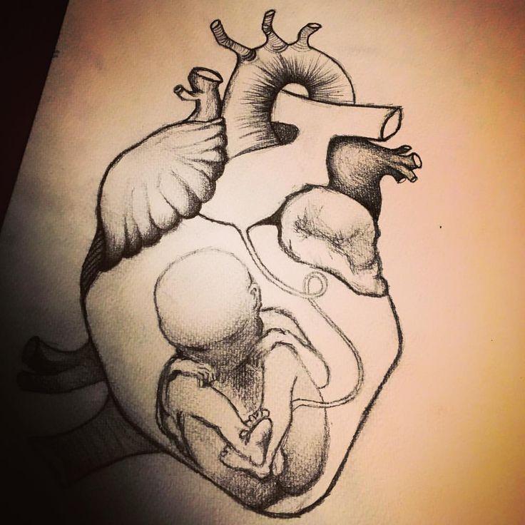 39 mentions J'aime, 6 commentaires – XtaZ!k (@xta_zik) sur Instagram : «WORK IN PROGRESS #drawing #baby #anatomy #anatomicalheart #newborn #heart #artwork #romance #mix…»