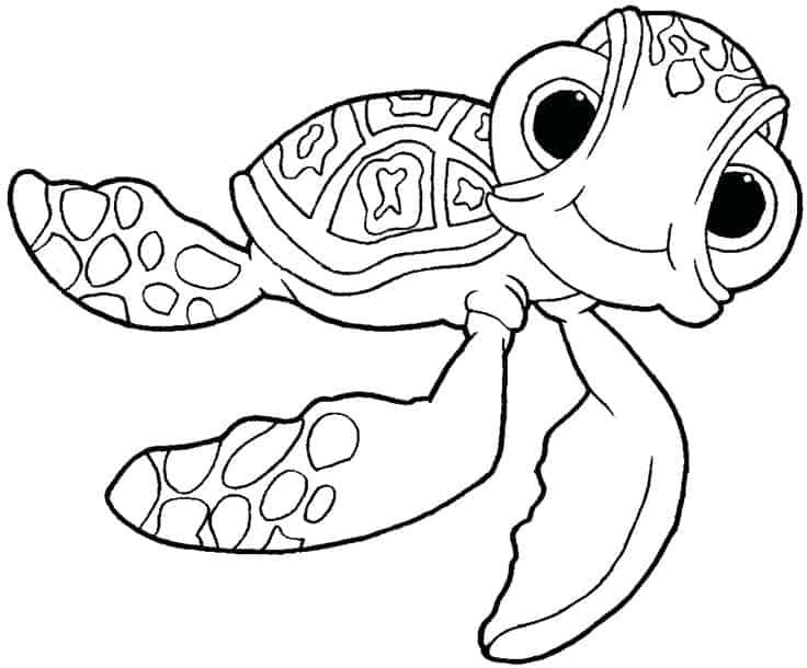 Printable Finding Nemo Coloring Pages In 2020 Nemo Coloring