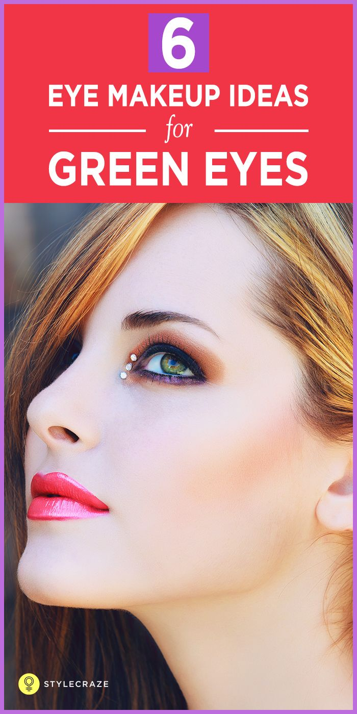 6 Amazing Simple And Smart Everyday Outfits For Men: 6 Amazing Makeup Tricks For Green Eyes