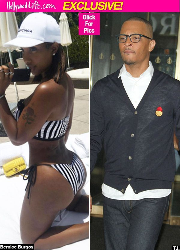 T.I. & Bernice Burgos: She Loves To 'Work Him Up' With Sexy Club Pics While He's Away