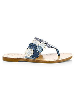 7f8d1fec4621 COACH Lottie Toe Thong Sandals