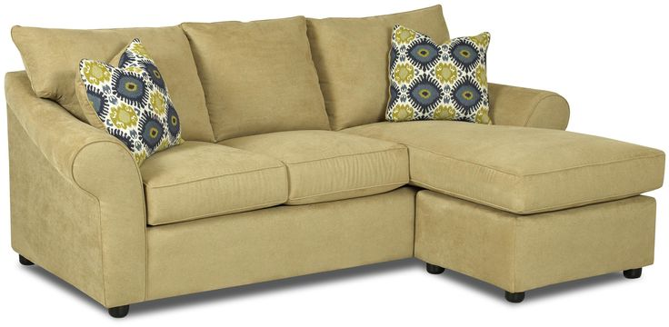 Couch With Chaise Lounge Attached Folio Sofa With