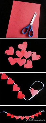 Bandeirolas de ♥