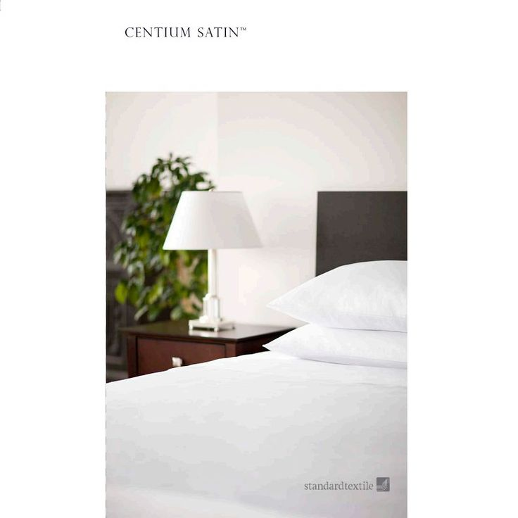Standard Textile Centima Satin Microcheck Hotel White Fitted Sheet – Sheet Market