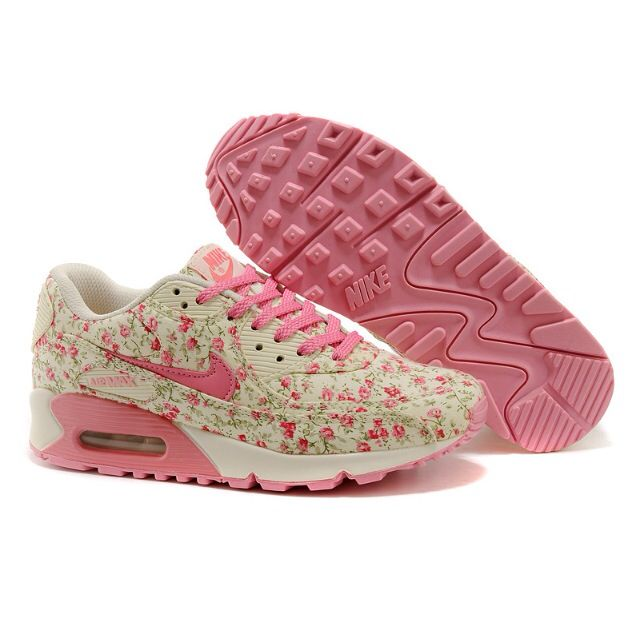 Women Air Max Women Air Max 90 Peach Flower [Women Air Max 90 - What a  lovely pink pair for you to choose. As you can see at the first sight, ...
