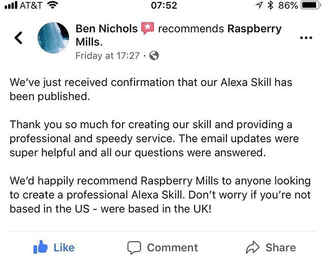 Aw Updates Like This Make Me Feel Like Our Company Is On The Right Track Im Thrilled That We Get To Help So Many Alexa Skills Feelings This Or That Questions