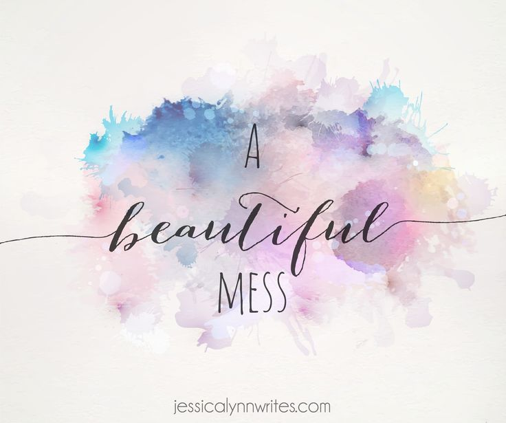 Failing is okay. Being messy is okay. If I were perfect I wouldn't need grace, and I certainly wouldn't need God. Thankfully, Jesus died for me and every single one of my messes. I'm not anticipating a radical change anytime soon since I will definitely be taking baby steps, but even an inch forward (and two steps back, I'm sure) will be better than nothing. So in the meantime, welcome to my beautiful mess.
