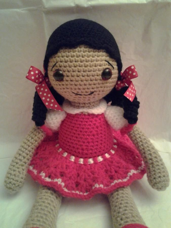 AMELIA The Gypsy Girl - Crochet creation by Sherily Toledo's Talents   Crochet.Community
