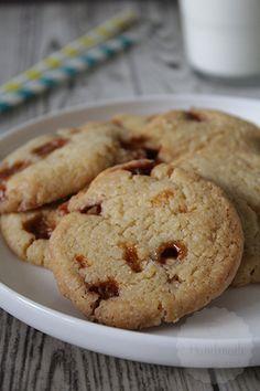 Knapperige karamel koekjes