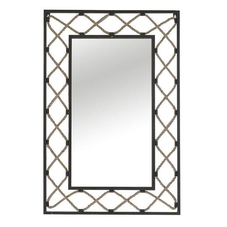 Wall Mirror - Metallic m. - MIRRORS - inart