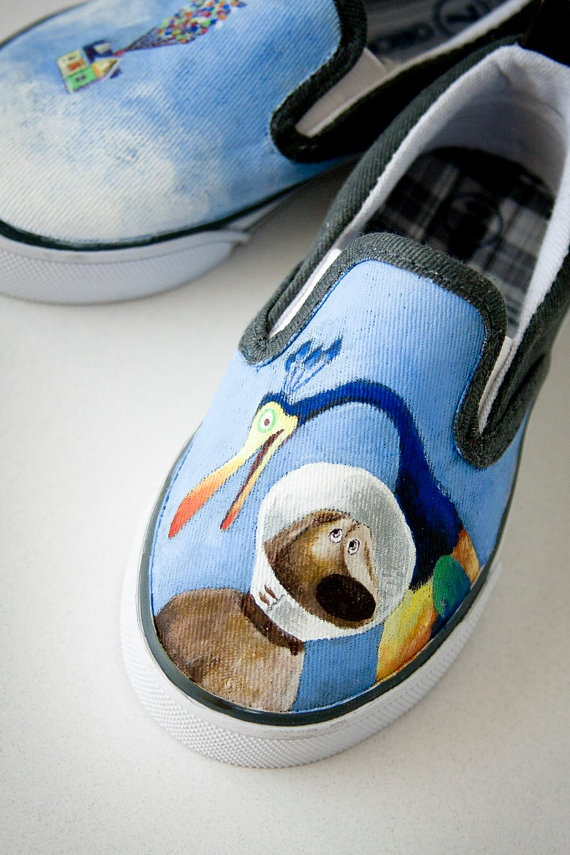 Disney's Up Painted Shoes